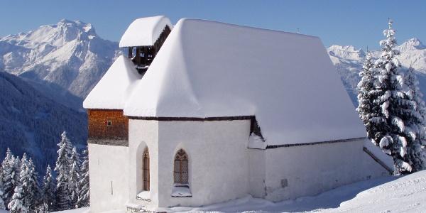 Silbertal Kirche Hl. Agatha