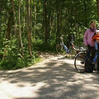 Familien-Radweg