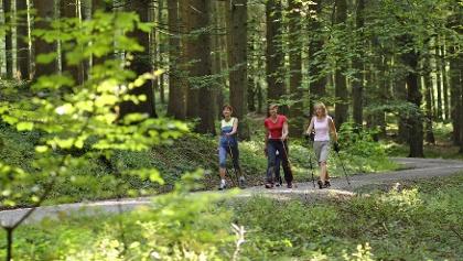Nordic Walking in Bad Grönenbach.