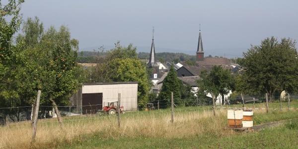 Radfahren im Mosel-Hunsrück bei Gornhausen