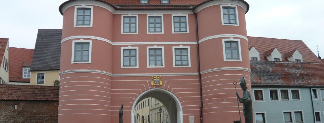 Das Riedertor in Donauwörth