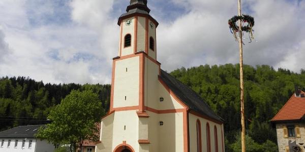 Bärenthal: Ortskirche St. Johannes d. Täufer