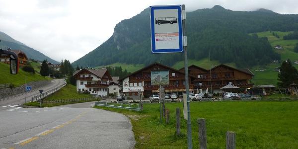 Bushaltestelle Rein-Unterstatt