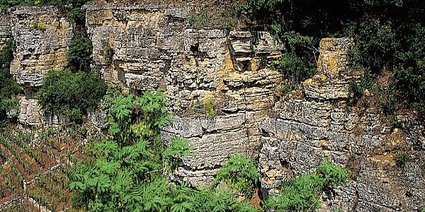 Uns erwartet eine beeindruckende Felsenlandschaft.