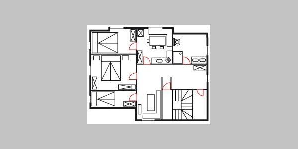 Grundriss Whg 3 Schlafzimmer