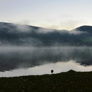Morgenstimmung am Schliersee