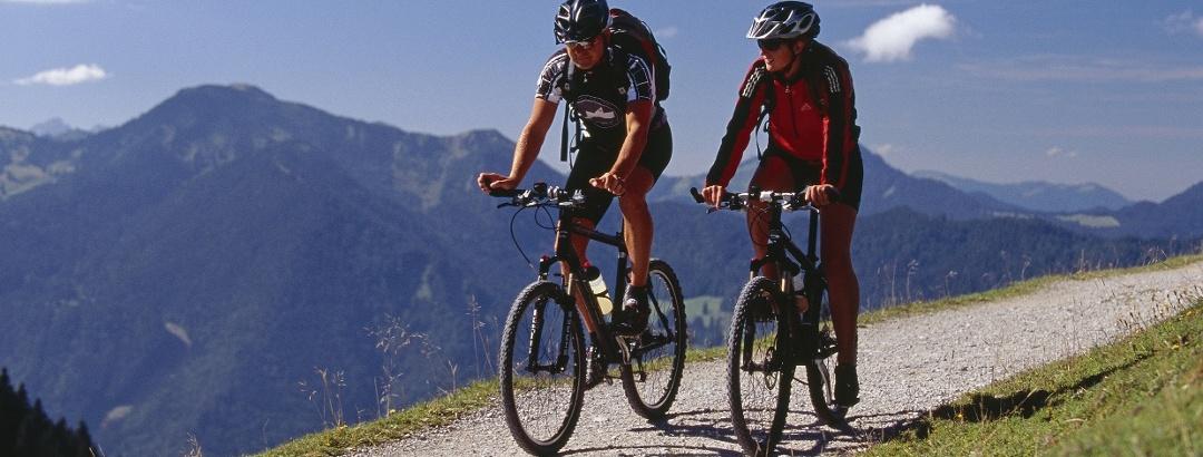 Mountainbiken an Tegernsee und Schliersee