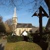 Pfarrkiche St. Margaretha (Ansicht vom Friedhof aus)