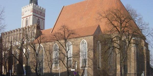 Die Marienkirche in Frankfurt (Oder).