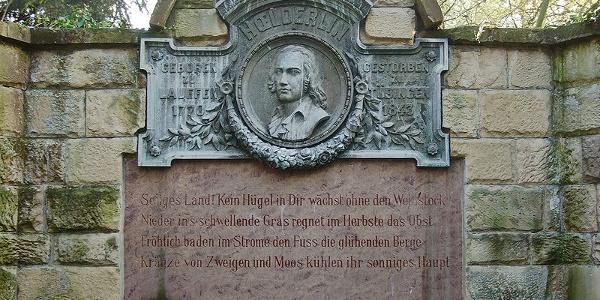 Hölderlin-Denkmal in Lauffen