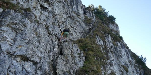 Kurzer Klettersteig auf den Besler