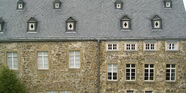 Das Hauptgebäude von Schloss Hohenlimburg.