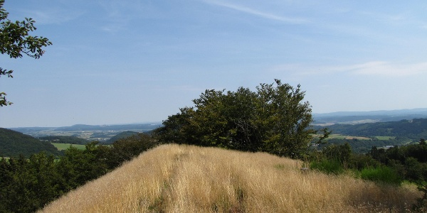 Ausblick vom Hilmesberg