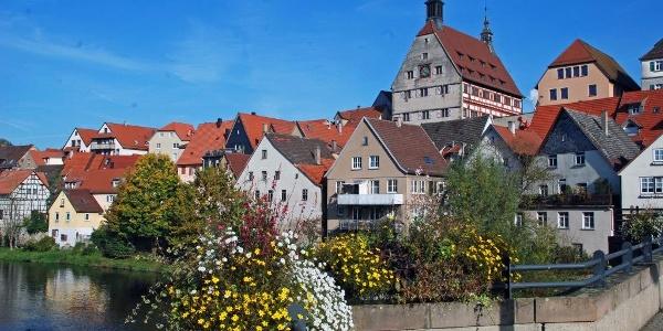 Die Besigheimer Altstadt