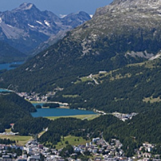 Panorama St. Moritz Pontresina