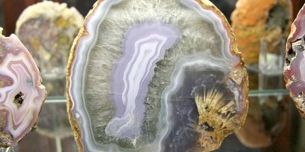 Achat im Mineralogischen Museum in Oberkirchen