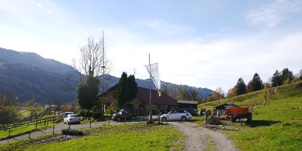 Die Schneidberg-Alpe vor dem Prodelkamm