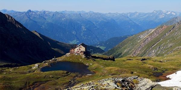Sudetendeutsche Hütte auf der Oberen Steineralm