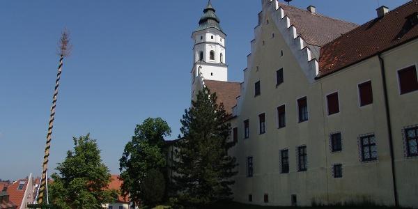 Das ehemalige Fuggerschloss in Babenhausen.
