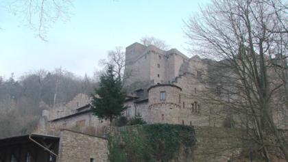 Ein Blick auf das Alte Schloss Baden Baden.
