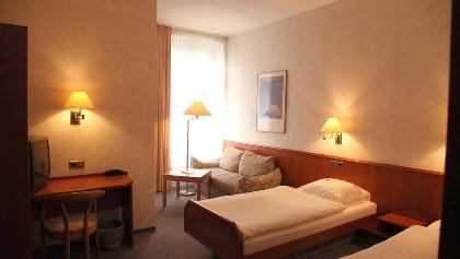 Hotelzimmer mit Dusche/WC