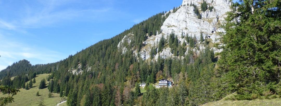Brünnsteinhaus im Sommer