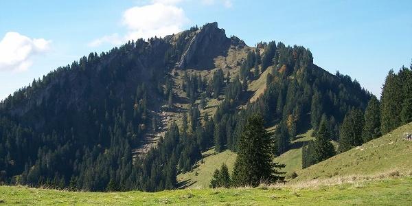 Blick vom Bärenkopf zum Steineberg.
