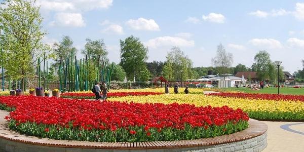 Gartenschaupark Rietberg Eingangsbereich Mitte/Historischer Stadtkern