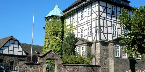 Fassade des Uffelnschen Hofs, heute Amtsgericht