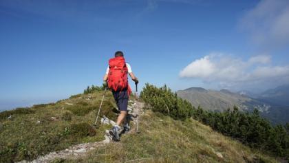 Panoramaweg Südalpen, bis zur Kahlkogelhütte ist es nicht mehr weit!
