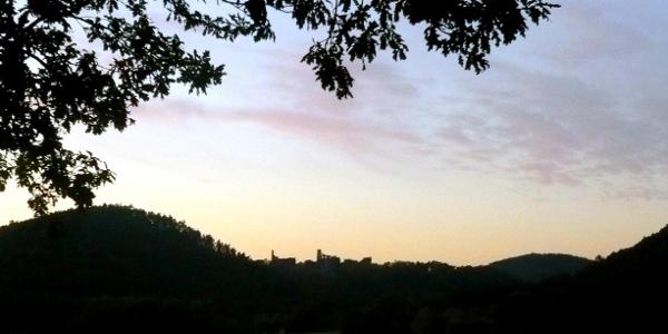 Silhouette von Altdahn.