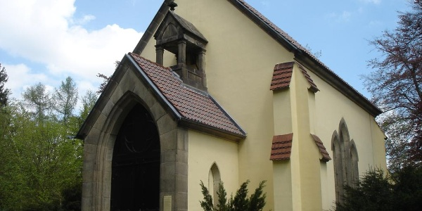Das Mausoleum in Waldhaus bei Greiz
