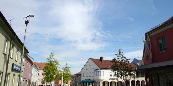 Startpunkt Eichendorf.