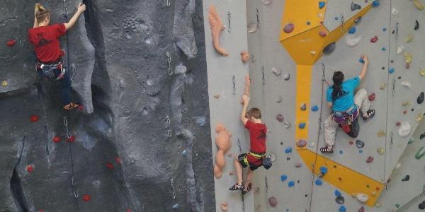 DAV Kletterzentrum Berlin: Die Strukturwand