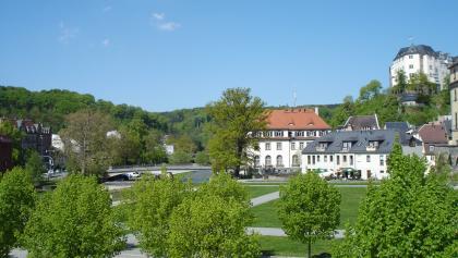 Der Schlossgarten am Unteren Schloss Greiz