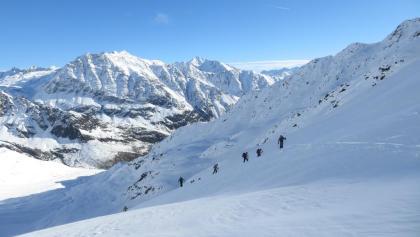 Großartige Bergwelt des Schnalstales