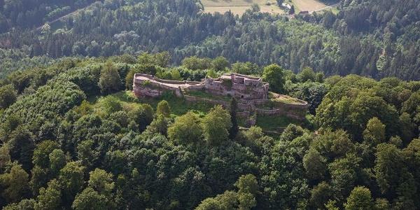 Burgruine Wegelnburg Dahner Felsenland - 1