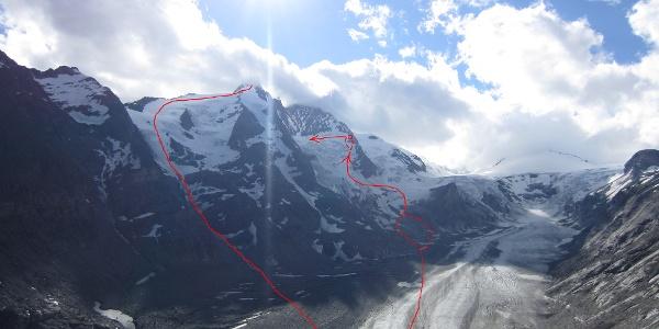 Zustieg zur Biwakschachtel + Abstieg vom Großglockner