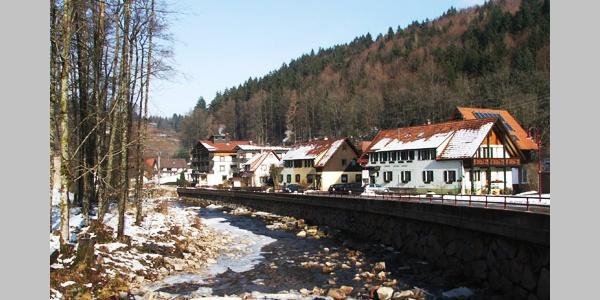 Der Osten von Schönmünzach.