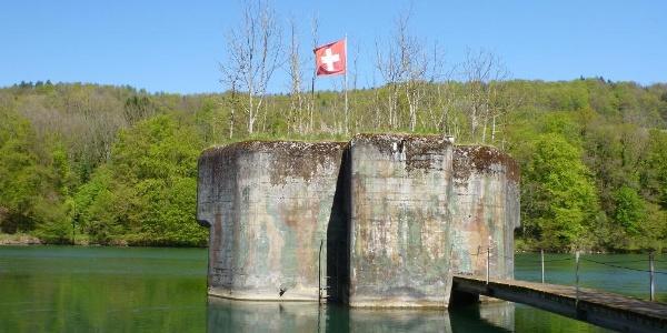 Bunker im Hochrhein