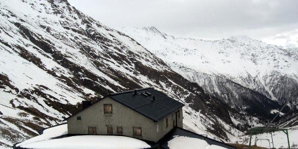 Um einige Kilos leichter oberhalb der Lucknerhütte.