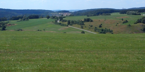 Blick über's Härtsfeld