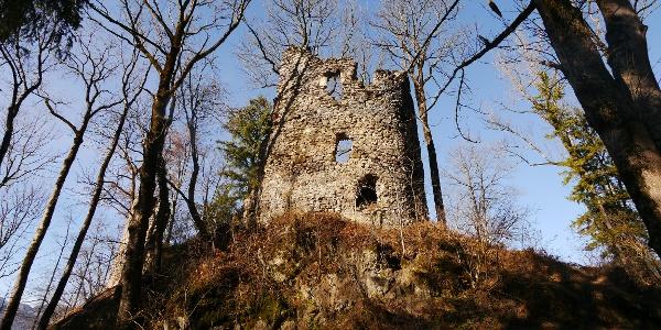 Burgruine Fluhenstein bei Sonthofen