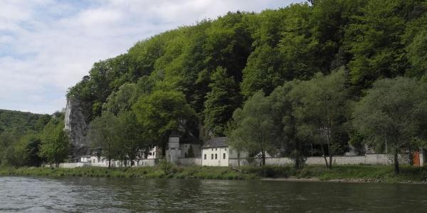 Einsiedelei Klösterl in der Weltenburger Enge, Donaudurchbruch in Kelheim im Altmühltal