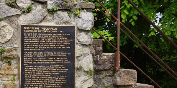 Geschichte der Burgruine Neuenfels