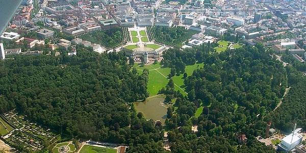 Schleifenroute - Karlsruhe Ansicht der Fächerstadt