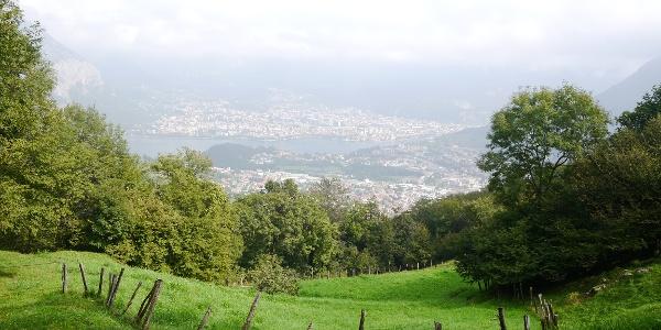 Aussicht von San Tomaso auf Lecco
