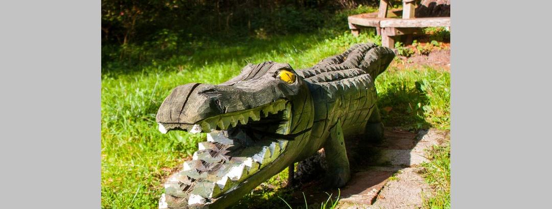 Das Krokodil vom Walheimer Wald