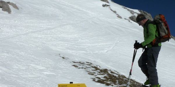 Buchauer Scharte 2269 m.