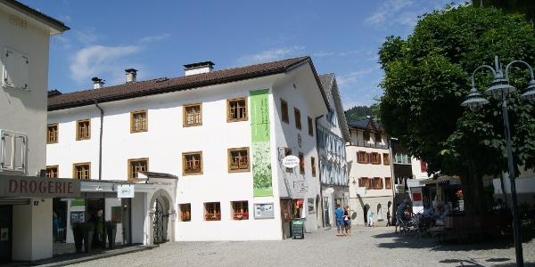 Montafoner Heimatmuseum am Kirchplatz in Schruns